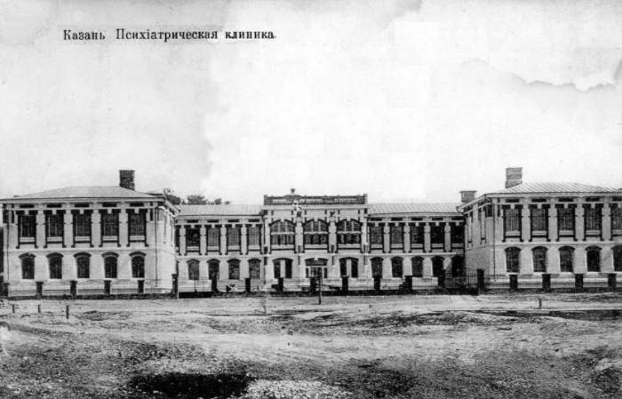 Здание Казанской психиатрической лечебницы было весьма элегантным.