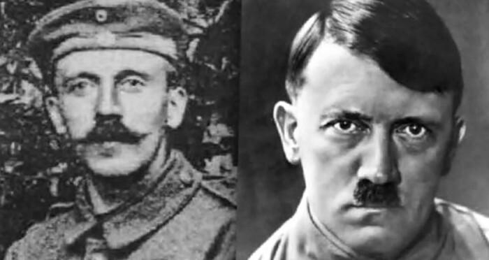 Трансформация усов Гитлера.
