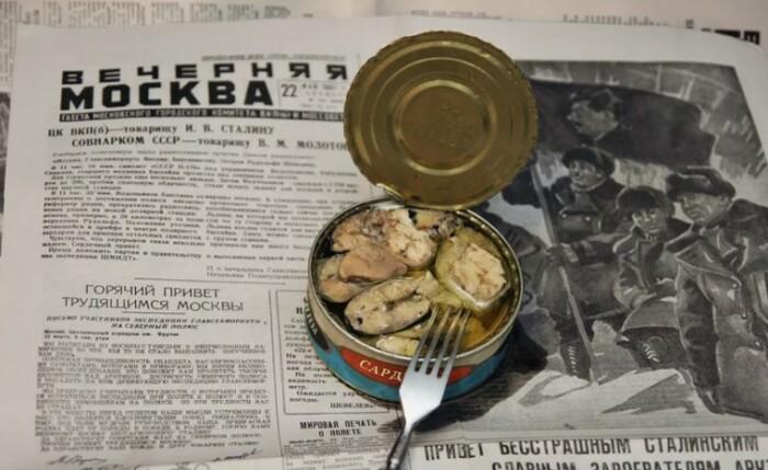 Граждане СССР научились есть рыбу на регулярной основе.