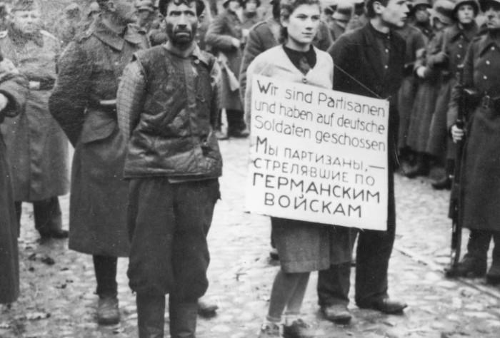 За пособничество партизанам можно было поплатиться жизнью.