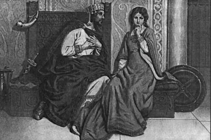 Ла Каве король был не по нраву.