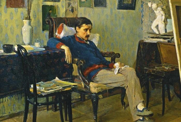 Художники сами часто культивировали образ бедного и больного творца.