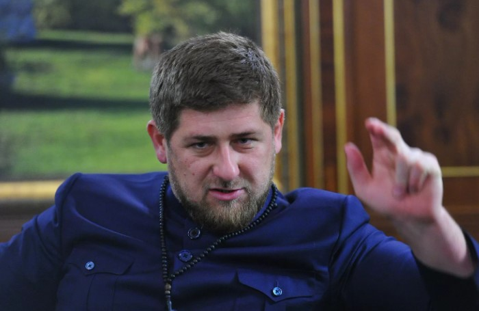 У Рамзана Кадырова с мужественностью точно полный порядок.