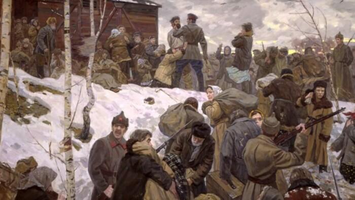 Исторические факты этих лет нашли отражение на многих картинах.