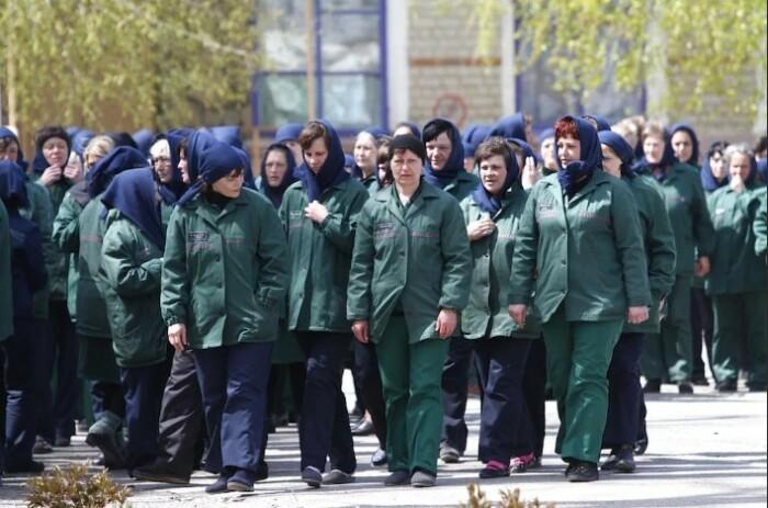 Современные реалии в женских тюрьмах.