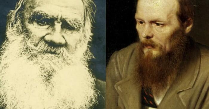Толстой и Достоевский - самые читаемые русские писатели за границей.
