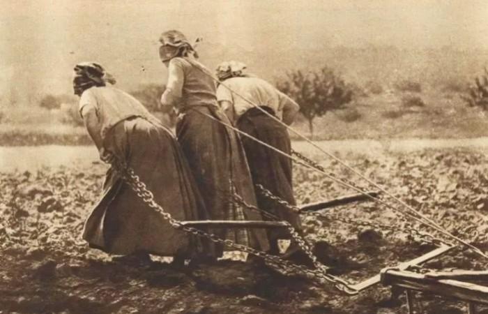 На женщинах была огромная часть домашнего хозяйства.
