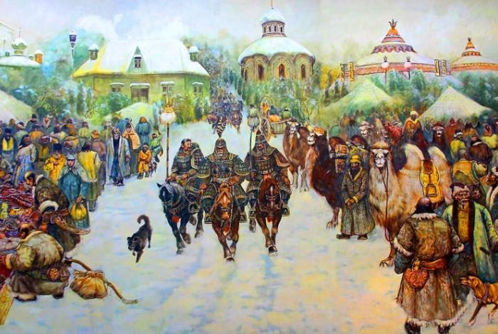 Система сборов налогов, которую ввели татаро-монголы. была наиболее совершенной.