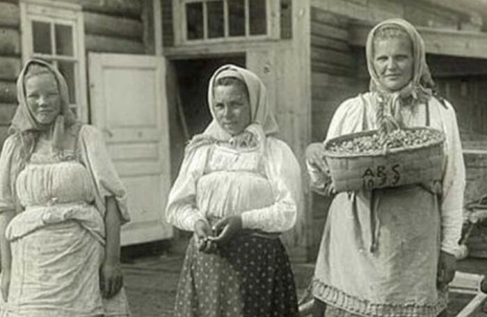 Женщинам и без мужа находилась масса работы.