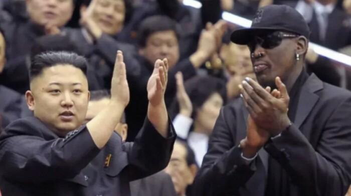 Звезда баскетбола в гостях у корейского лидера.