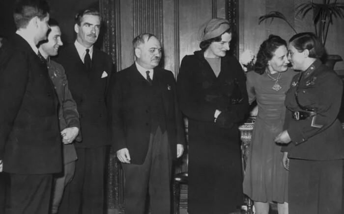 В Америке Людмила подружилась с женой президента.