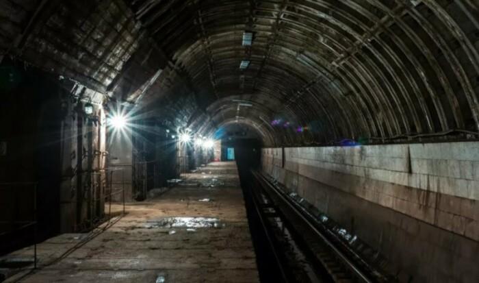 Фото из подземелья получаются жутковатыми.