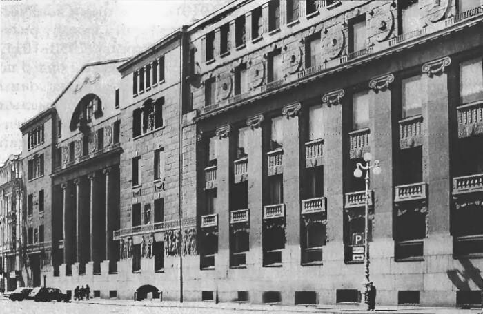 Фасад банка.