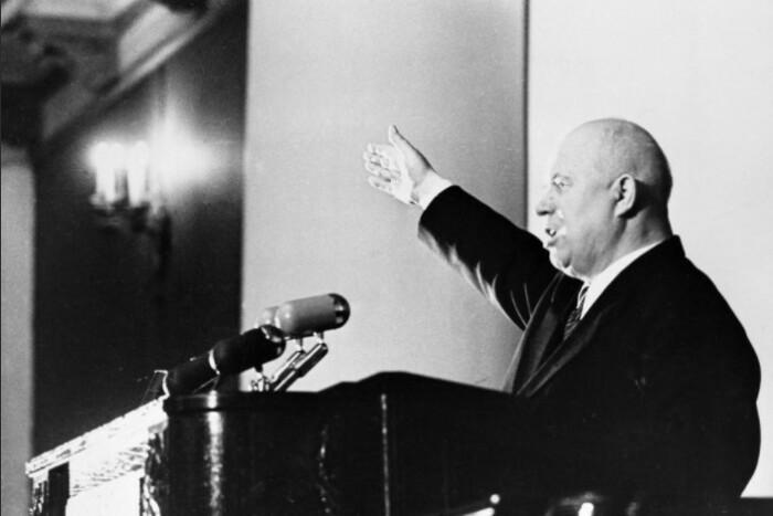 Хрущев тоже пытался решить проблемы с помощью амнистий.