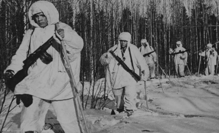 Лыжный батальон.