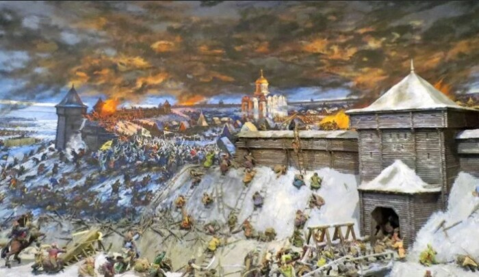 Возвышение Москвы произошло именно в этот период.
