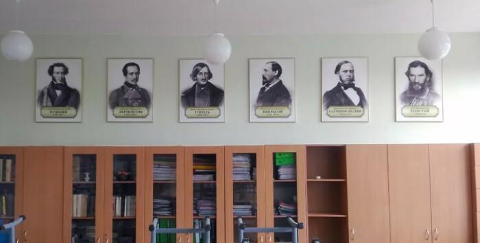 Сомнительно, что эти господа творили ради того, чтобы бесконечно украшать кабинеты литературы.