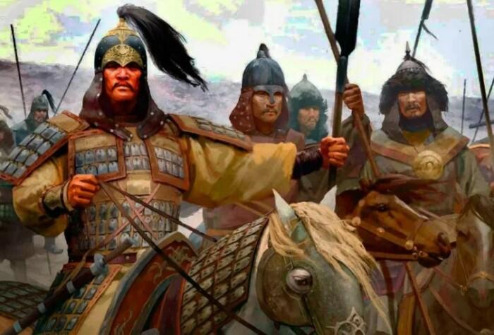 Военная техника завоевателей оказалась более совершенной и была перенята.