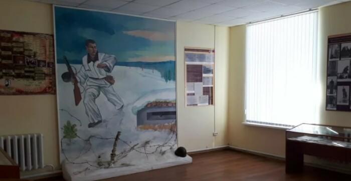 Музей имени Матросова в Кунакбаево.