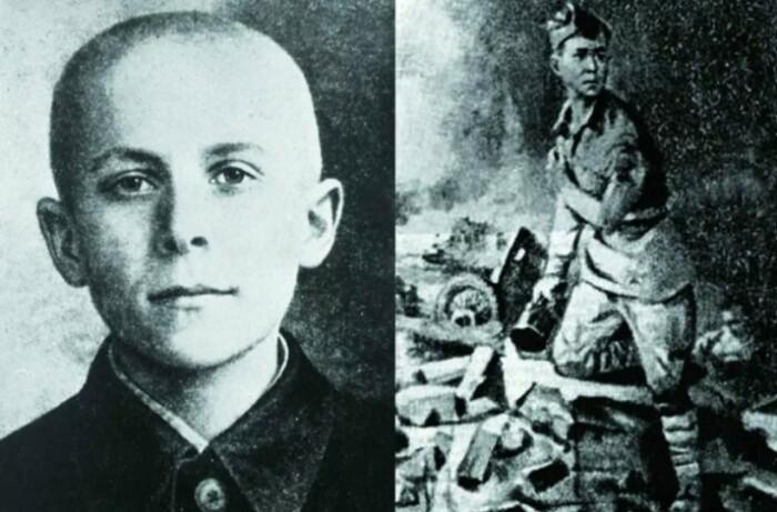 Еще один юный Герой - Марат Казей.