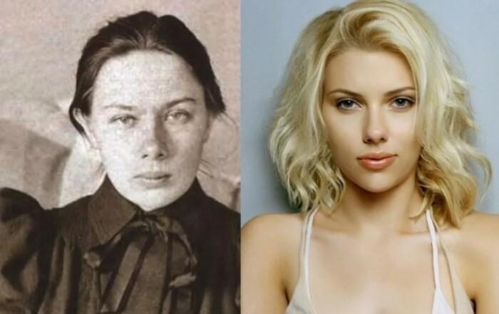 Зато современники сравнивают Крупскую с красоткой Скарлетт Йоханссон.