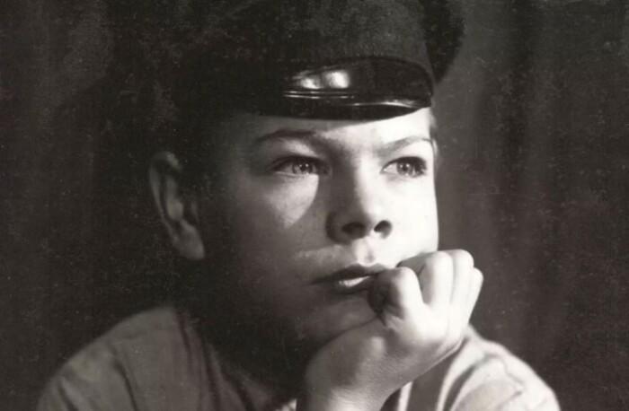 Кадр из фильма, посвященного Максиму Горькому.