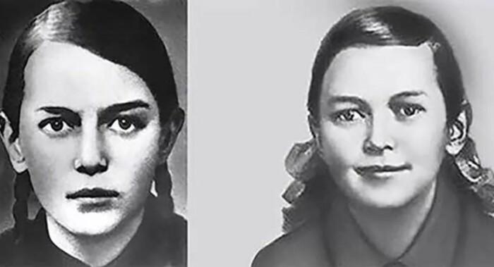 Девочка с пронзительным взглядом: Зина Портнова.