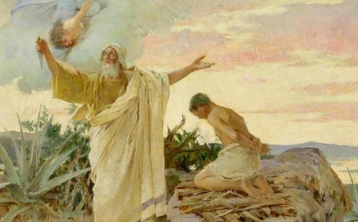 Прослеживается явная связь с библейским сюжетом.