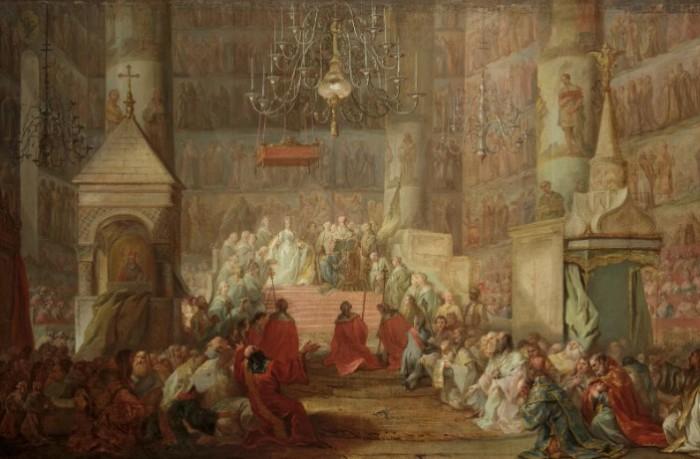 Коронация Екатерины II