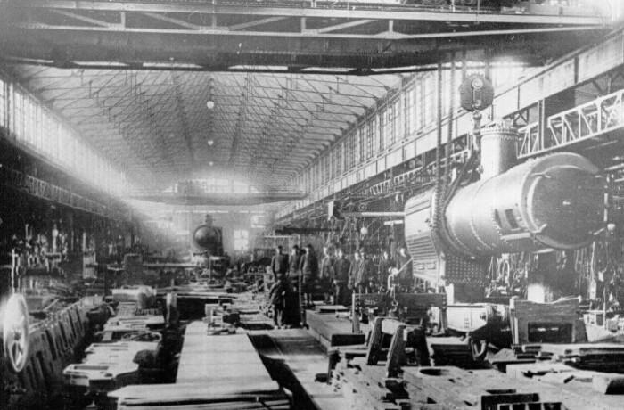 Путиловский завод начала 20 века.