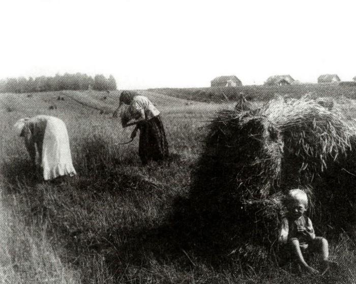 Даже работа в полях по большей мере была женской обязанностью.