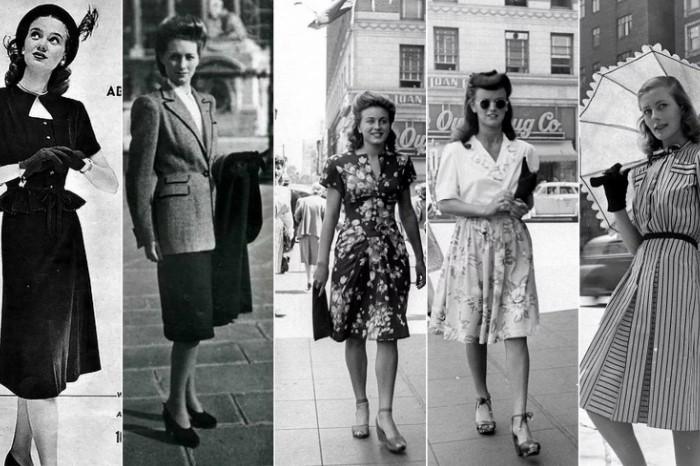 Какой была мода послевоенных лет