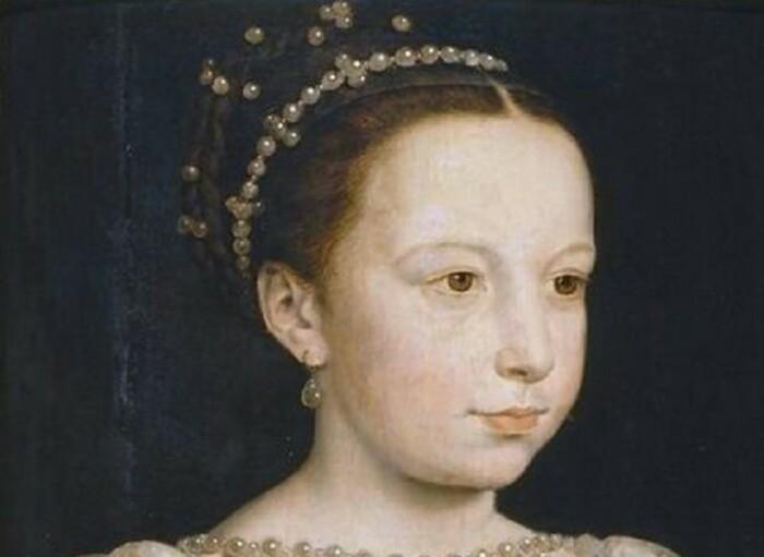 Детский портрет королевы.