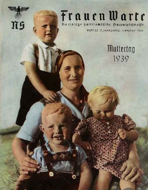 Немецкий плакат тех времен.
