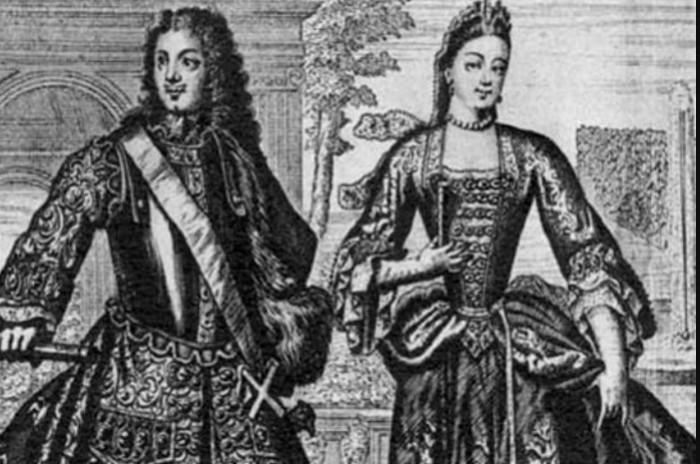 Петр I стал культовой личностью для России, даже жену он выбрал себе под стать.