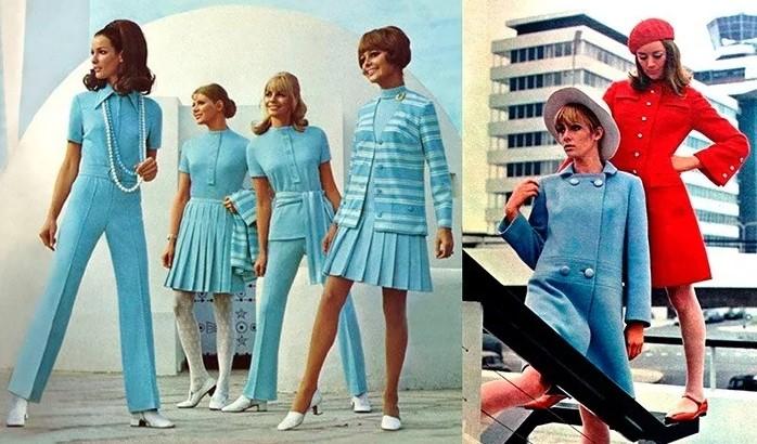 Мода 60-ых в США.
