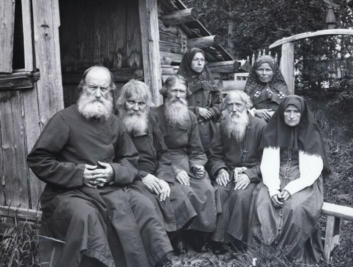Старообрядцы 17 века.
