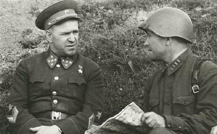Жуков в начале войны.