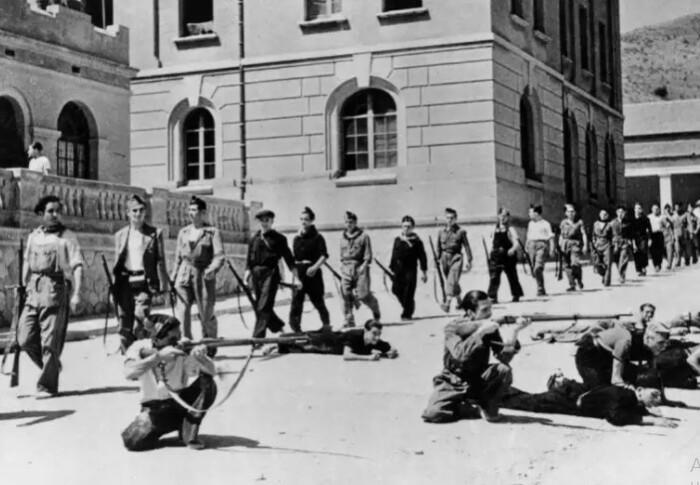 Гражданская война в Испании.