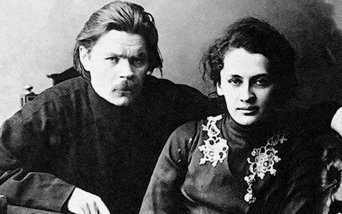 Официальная супруга у Горького была одна, а женщин - множество.
