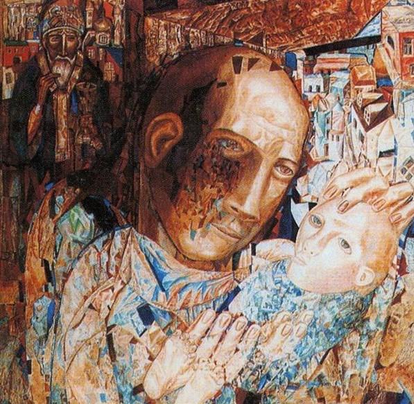Одна из работ художника.