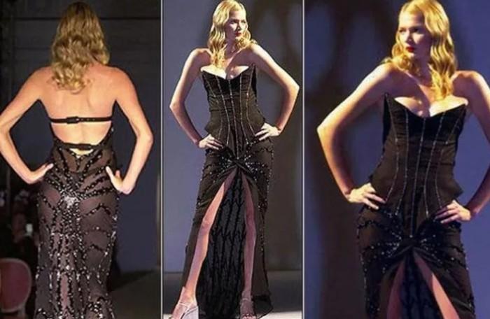 Платье получилось весьма элегантным и даже носким.