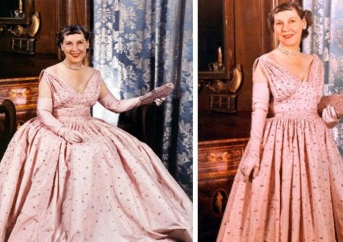 Розовый от первой леди.