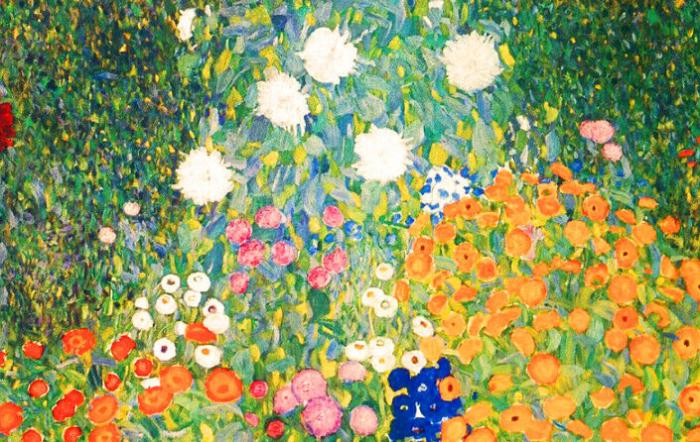 """Густав Климт. """"Цветущий сад""""."""