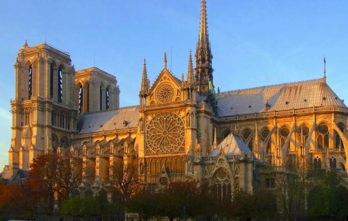 Исторический вид собора.