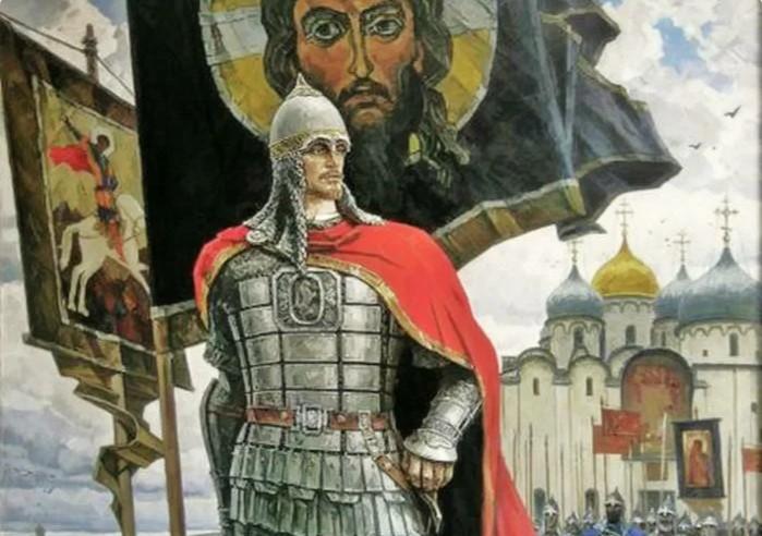 Фраза про меч прочно связана с именем князя, пусть даже он ее и не произносил.