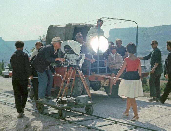 Фото со съемок фильма.