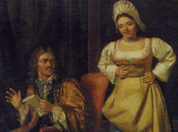 Петру было все равно, что жена не благородного происхождения.