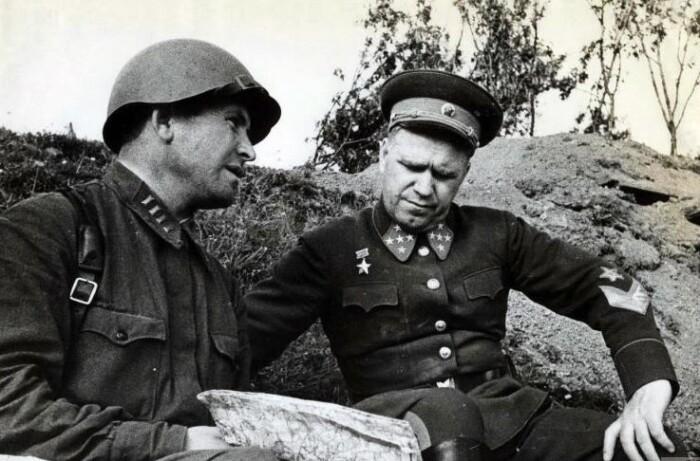 Молодой Жуков в начале Второй мировой.