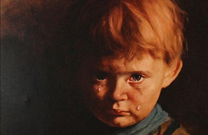 """Джованни Браголин. """"Плачущий мальчик""""."""